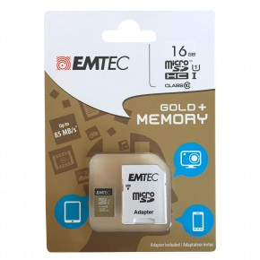 Micro SD karta + adaptér 16 GB