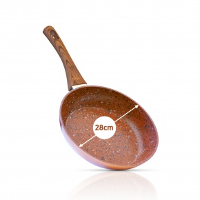 Livington Copper & Stone Pan 28 cm
